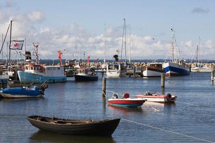 Glowe Hafen