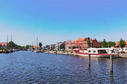 Hafen am Greifswalder Bodden
