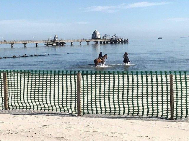 Reiter Spa in der Ostsee am Gromitzer Strand