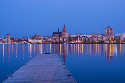 Blick auf Rostock