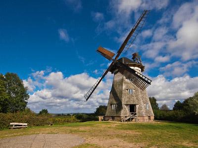 Windmühle Benz Usedom
