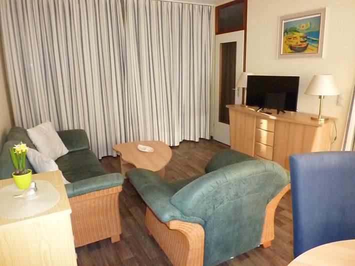 Ferienpark 45 qm wohnungstyp mit balkon for Wohnzimmer 45qm