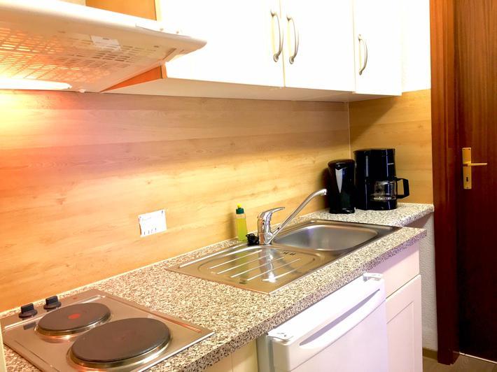 Ostseeklarde appartement jette prerow objektnr 505578 for Single küche